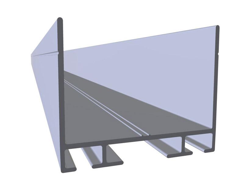 Perfiles de aluminio y plastico Recambios prara puertas seccionales.